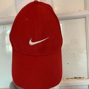 Nike red cap